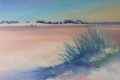 Oil Painting. Chisnell. Norfolk sand dunes