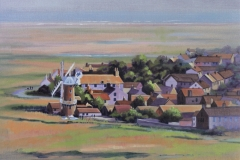 Chisnell painting Cley North Norfolk