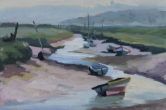 Chisnell Oil Painting MorstonQuay