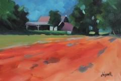 Chisnell Oil Painting NorfolkFarm
