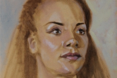 Chisnell Oil Painting portrait